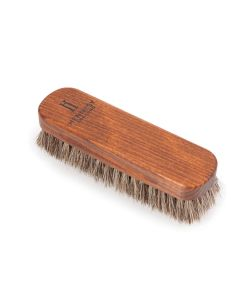 Premium Medium Horsehair Buffing Brushes shoes and boots-Natural