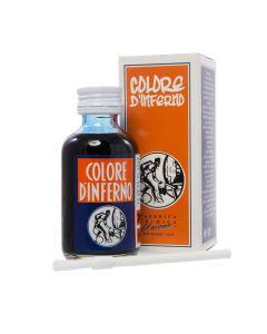 Nero D'inferno Leather Dye + Brush - Black
