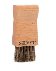 Selvyt Jar Brush - Black and Natural-Natural