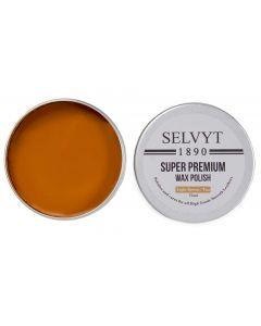 Selvyt 1890 Super Premium Wax Polish-Light Brown/Tan