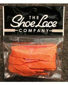 Flat Trainer Laces 10mm wide/130cm SHOES HI TOPS, and BOOTS-Burnt Orange