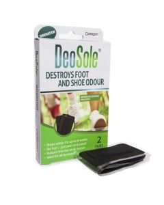 DeoSole Shoe Patch destroys shoe and foot odour