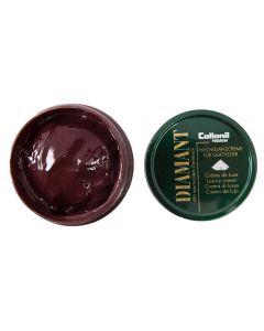 Collonil 1909 Creme De Luxe Premium shoe cream and FREE Polishing Cloth-Burgundy