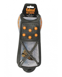 Fabsil Ice Grips Anti Slip for most shoe types-Small/Medium