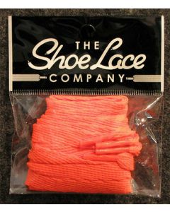 Flat Trainer Laces 10mm wide/130cm SHOES HI TOPS, and BOOTS-Flat Orange
