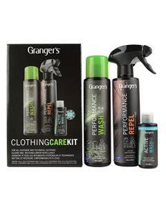 Grangers All-In-One Clothing Care Kit - Black