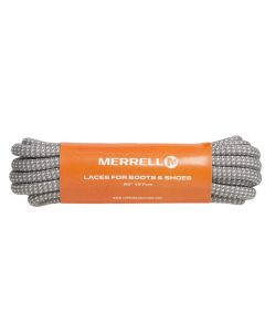Merrell Laces for Boots and Shoes - Genuine Merrell Laces-127 cm-Grey Blue Pinpoint