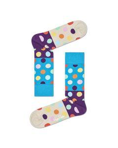 Happy Socks Big Dot Block Sock, Multicoloured