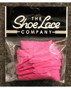 Flat Trainer Laces 10mm wide/130cm SHOES HI TOPS, and BOOTS-Hot Berry