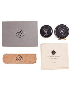 Hudson H Shoes Luxury Shoe Care Kit-Black