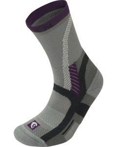 Lorpen Socks Grey/Plum