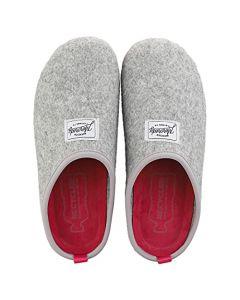 Mercredy Slipper Grey Magenta Womens Slippers Shoes in Grey Magenta