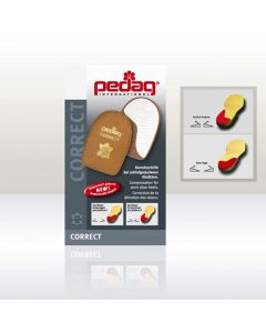 Pedag Correct Heel Solid Heel Step Straightener for Shoes and Boots-Medium 38/40