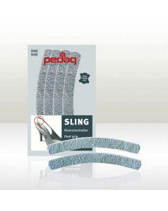 Pedag 'Sling' anti slip suede heel grips for high heel slingback shoes