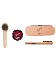 Red Wing Ultimate Cleaning Kit - Brushes and Cream in the colour of your choice