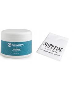 Scarpa HS12 Cream 200ml and Free Cloth