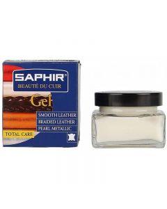 Saphir Gel Polish For Metallised Leather 50ml