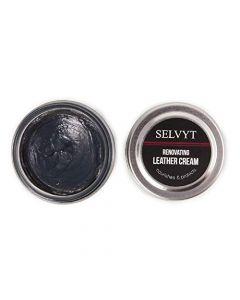 Selvyt Polishing Cloth + Cream Polish Combo Kit for boots and shoes-Navy