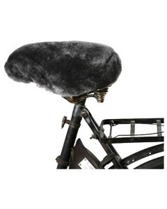 Shepherd of Sweden Ebbe Dark Grey Bicycle Seat Cover (Dark Grey)
