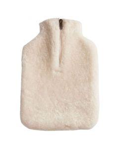 Shepherd of Sweden | Kerri Genuine Sheepskin Luxurious Hot Water Bottle Cover (Cream)