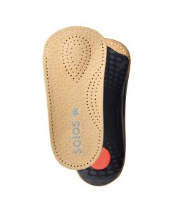 """Solos """"Light"""" Arch Support 3/4 Leather Insole/Footbed Shoes Boots"""