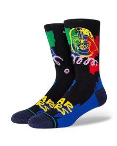 Stance Buffed Vader Crew Sock - black - MD (Men's Shoe 6-8.5, Women's Shoe 8-10.5)