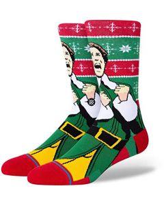 Stance Elf Cold Outside Socks-Large