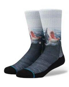 Stance Men's Landlord Crew Socks (Medium Blue)