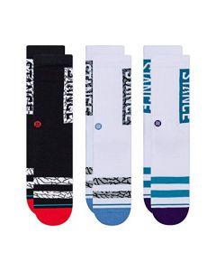 Stance Men's The Classic Crew Socks, Multi, Medium