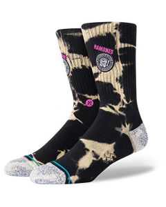 Stance Ramones 1976 Socks Black | Stance Mens Crew Length Socks