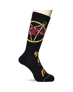 Stance Men's Slayer No Mercy Crew Socks Black