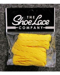 Flat Trainer Laces 10mm wide/130cm SHOES HI TOPS, and BOOTS-Sunshine Yellow