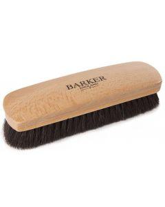 Barker Luxury XL Horsehair Polishing Brush - Black and Natural-Black