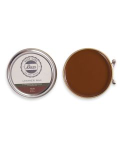 Bass Wax Polish for all Bass Leather Shoes Boots Black, Tan, Neutral and Wine-Tan