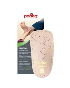Pedag Bambini Leather Arch Support/Insole for Children-Euro 32/33