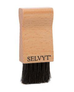 Selvyt Jar Brush - Black and Natural-Black