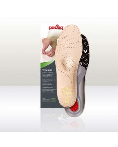 Pedag Viva High Insoles/Footbeds for High Arches for boots and shoes-43 (UK M Size 9)