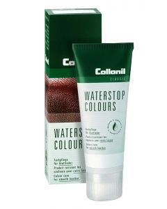 COLLONIL WATERSTOP COLOURS POLISH WATERPROOFING SMOOTH LEATHER-Medium Brown