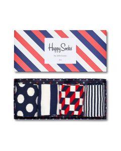 Happy Socks Big Dots Gift Box XBD09-6000 Dots and Stripes